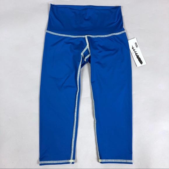 7ea7a84b00a3d teeki Pants | Goddess Capri Oshun Blue | Poshmark